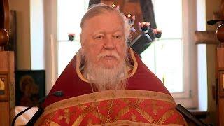 Протоиерей Димитрий Смирнов. Проповедь о любви ко Христу