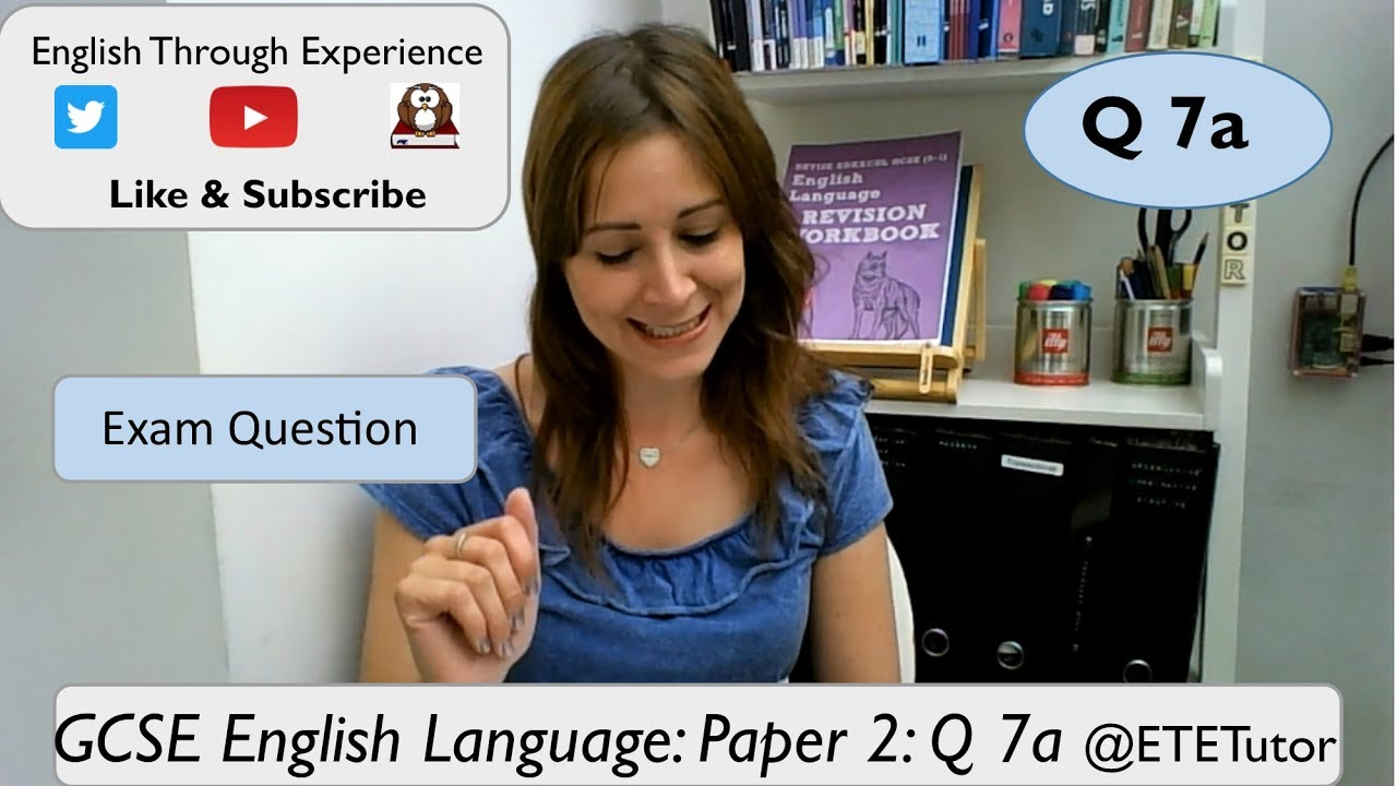 english language paper Exam board content from bbc bitesize for students in england, northern ireland or wales choose the exam specification that matches the one you study.