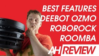 Vacuum Wars: Smartest Robot Vacuum - DEEBOT OZMO 950 vs Roomba i7 vs Roborock S5