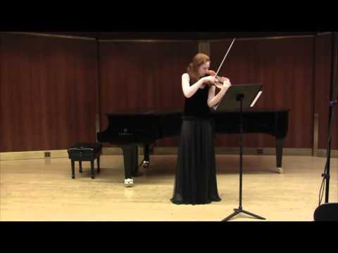 Pisendel Solo Violin Sonata, mvt 1 - Augusta McKay Lodge