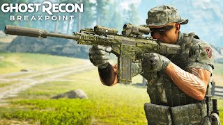 ARX200 THE BEST ASSAULT RIFLE in Ghost Recon Breakpoint Free Roam