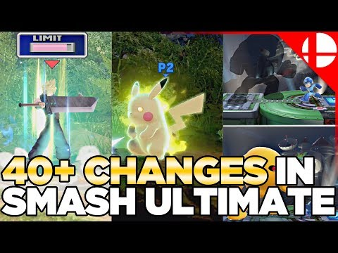 40+ Changes in Smash Ultimate thumbnail