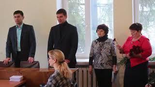 Чествование ветеранов в Великой Михайловке
