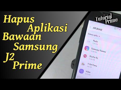 Cara Mudah Hapus Aplikasi Bawaan Samsung J2 Prime.