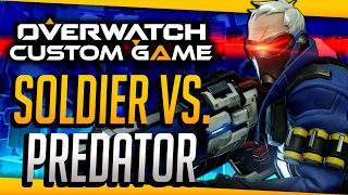 Overwatch Custom Game: Soldier vs Predator