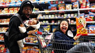 CRAZY GROCERY SHOPPING CHRONICLES WITH J&J FAMILY