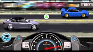Android: Взломанная версия игры Drag Racing