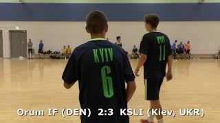 Handball. KSLI (Kiev, UKR) - Orum IF (DEN). Viborg. U16 boys. Group 6. GENERATION HANDBALL-2018