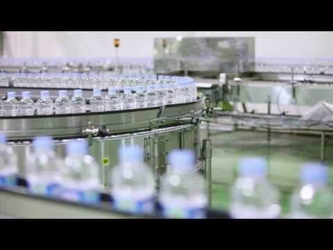 DMZ Natural Mineral Water manufacturing process