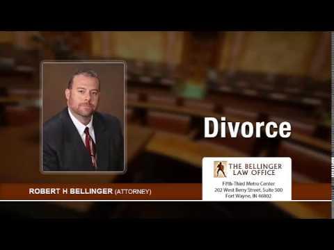 Robert Bellinger Representing Fort Wayne Fathers In Divorce Cases. | 260-428-2214