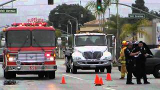 Montebello Fire Department-Traffic Collision-Montebello