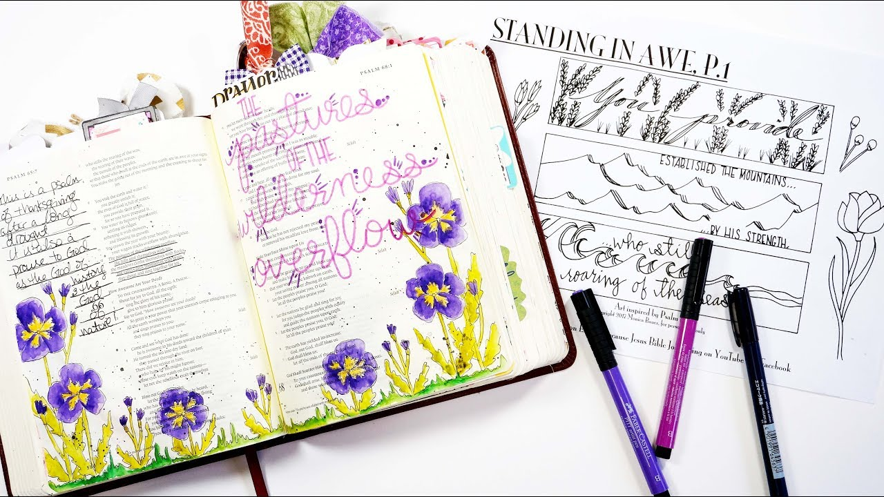 Because Jesus Bible Journaling Printables