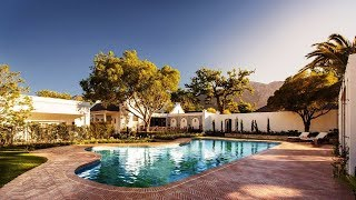 Top10 Recommended Hotels in Franschhoek, Western Cape, South Africa