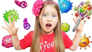Wash Your Hands Song | Nursery Rhymes and Kids Song by Milli and family