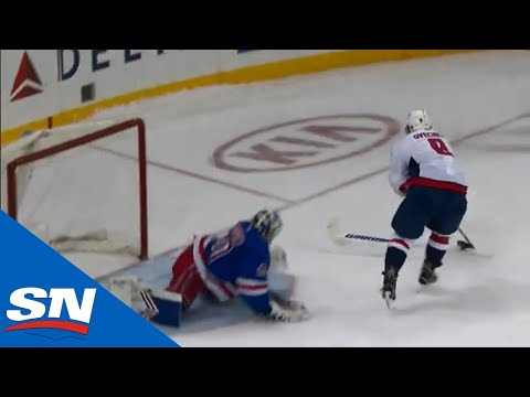 Alexander Ovechkin Involved In Controversial End To Rangers And Capitals Shootout