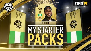 Crazy Starter Pack Pull!!! FIFA 19 FUT Returning Rewards