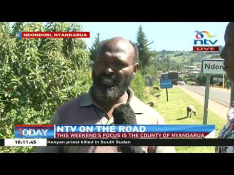 NTV On The Road: Nyandarua residents call for infrastructure development in rural areas