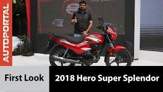 2018 Hero Super Splendor - First Look - Autoportal