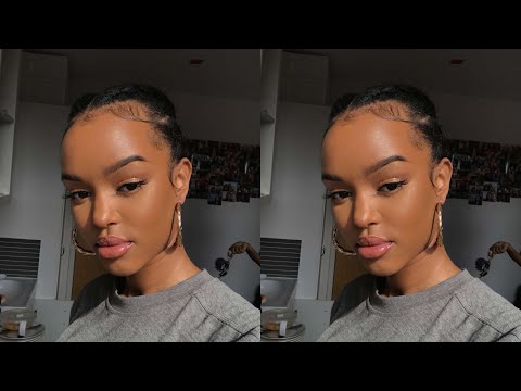 NATURAL GLOW USING TINTED MOISTURISER & AN EASY HAIRSTYLE | Only Bells