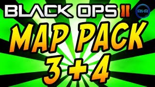 Black Ops 2 - Map Pack 3 & 4 Release Dates & FREE DLC Weekend! (COD BO2 Multiplayer Gameplay)