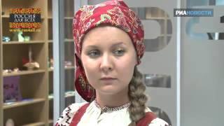 Русские народные костюмы(Исторический экскурс на живом примере. Сайты: http://drevoroda.ru http://kolokola-rusi.ru Группа ВК: http://vk.com/mcdrevoroda., 2016-01-06T05:42:27.000Z)