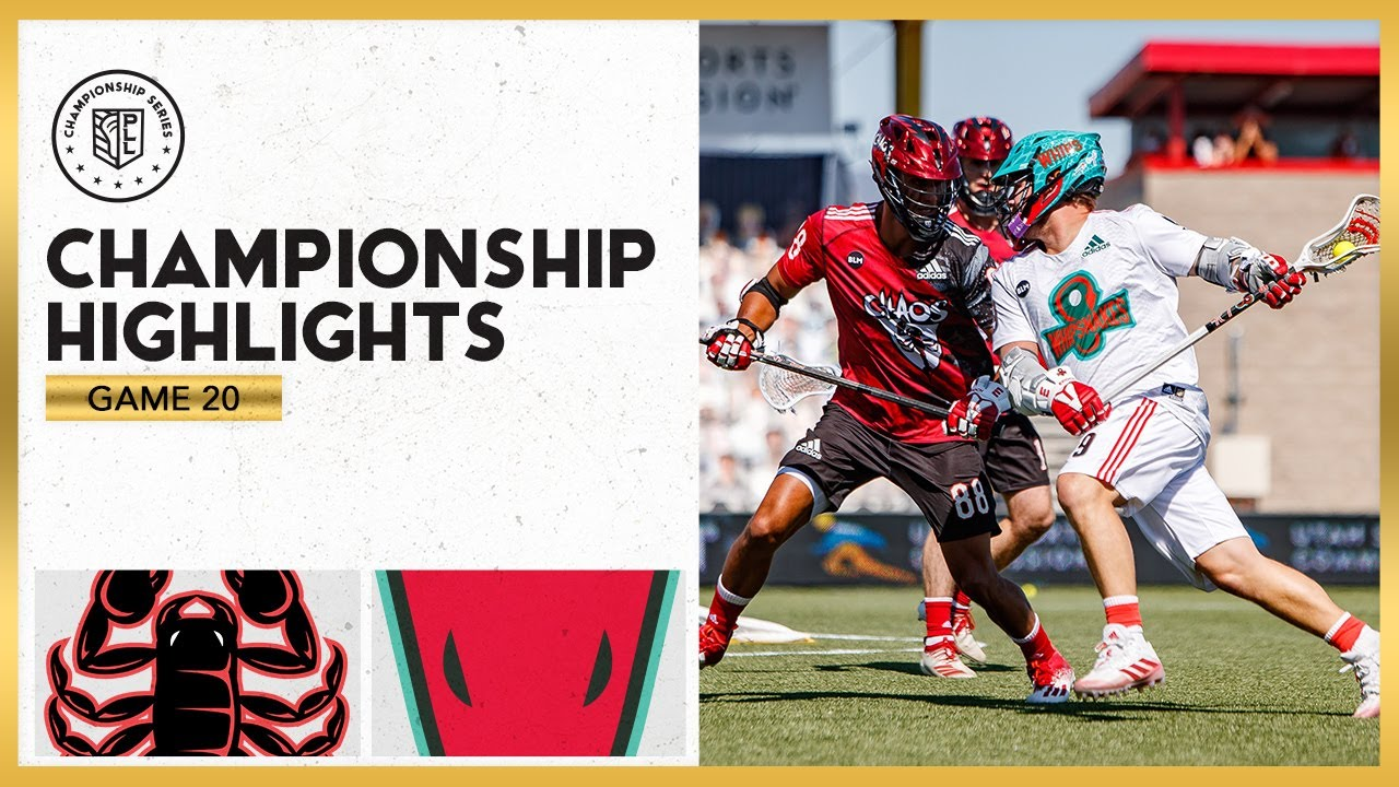 2020 PLL CHAMPIONSHIP FULL HIGHLIGHTS!