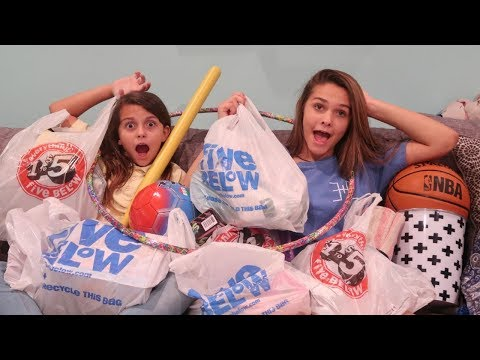 NO LIMIT SHOPPING SPREE CHALLENGE AT 5 BELOW! SHOPPING HAUL!