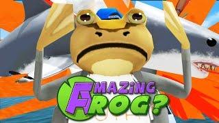 FINALLY KILLED THE GIANT SHARK?! - Amazing Frog - Part 51 | Pungence