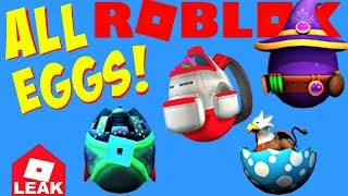 ALL EGGS + GAMES, Roblox Egg Hunt 2019, Scrambled in Time