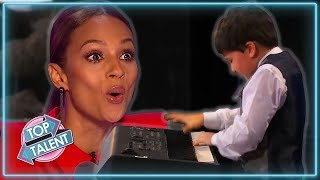 TOP 5 UNFORGETTABLE Piano Auditions On Got Talent and Idol! ...