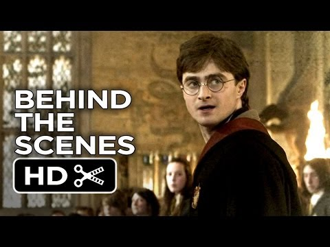 Harry Potter and the Deathly Hallows Part 2 BTS - Harry Returns To Hogwarts (2011) Movie HD