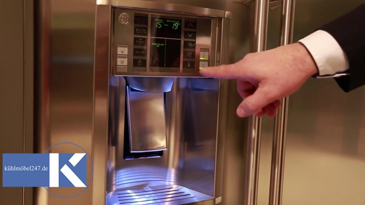 Amerikanischer Kühlschrank Smeg : General electric amerikanischer kühlschrank ore vgf e elegance