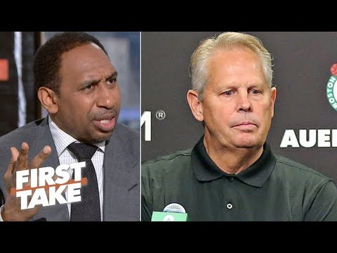 'Enough is enough!' – Stephen A. calls out Danny Ainges failures as Celtics GM | First Take