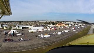 Demo flight in the Zenith STOL CH 750 around the Sebring International Raceway