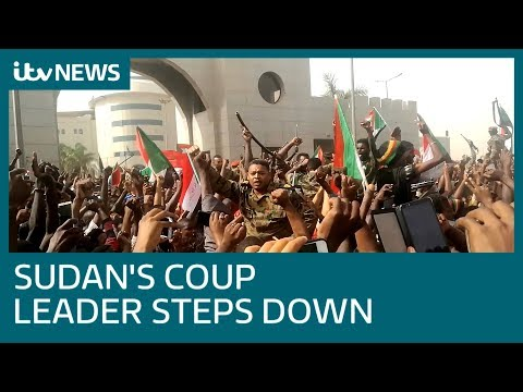 Leader of Sudan coup steps down day after ousting leader | ITV News