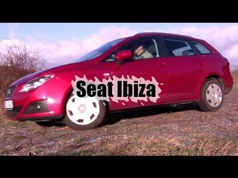 [Тест-драйв] Б/У SEAT Ibiza универсал - часть 1