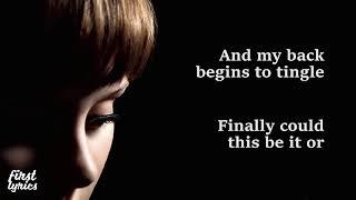 Adele - Chasing Pavements - Lyrics