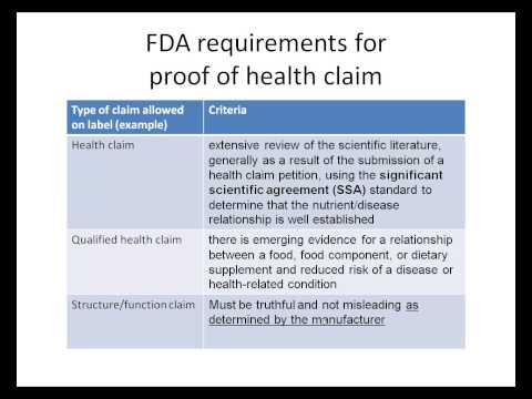 01e. Evaluating product label health claims