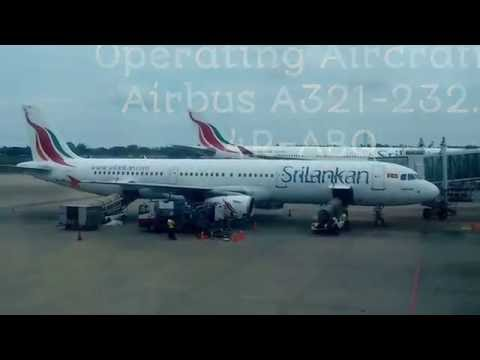 SRI LANKAN AIRLINES UL-308 COLOMBO TO SINGAPORE