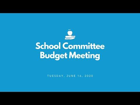 Peabody School Committee - June 16, 2020