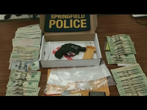Cocaine & pot seized in variety store drug raid