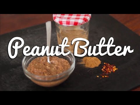 Home-made Peanut Butter (Sweet and Spicy) – Crumbs
