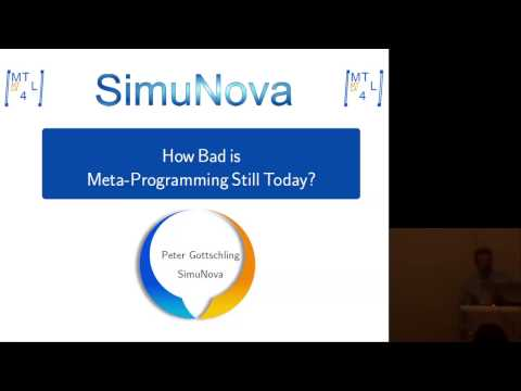 How bad is meta-programming still today? - Peter Gottschling - Meeting C++ 2016