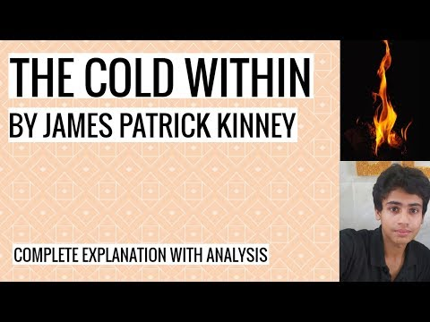 The Cold Within By James Patrick Kinney | Explanation And Analysis