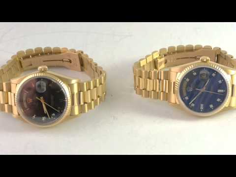 Rolex Day-Date President Serial Number And Model Number Location