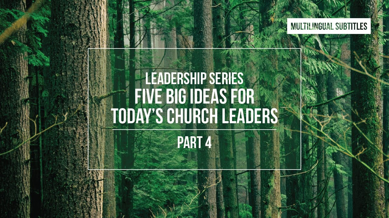 Download 5 Big Ideas for Today's Church Leaders: Assumptions - part 4