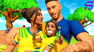 NEYMAR HAS A BABY DAUGHTER.. ( Fortnite Short )