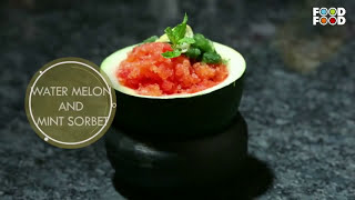 Style Chef | Water Melon And Mint Sorbet Recipe | Episode  6 | Segment 3 | Chef Shailendra Kekade