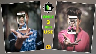 Snapseed 3D Fly Mobile Photo editing tutorial | Snapseed photo editing | Snapseed App | SAMIM EDITZ