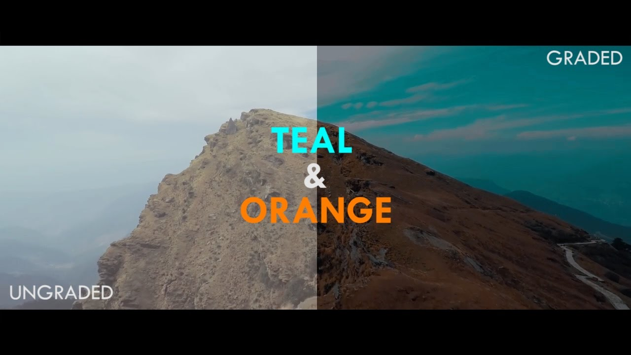 Teal and Orange 3dd Lut pack Download  Sam kolder look in